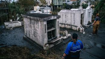 Hurricane Ida: Caskets, vaults displaced in Louisiana
