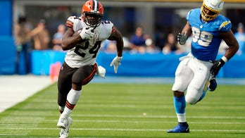 Browns star RB Chubb to miss matchup against 5-0 Cardinals