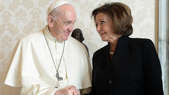 Nancy Pelosi meets with Pope Francis at Vatican after bishop urges prayer for her