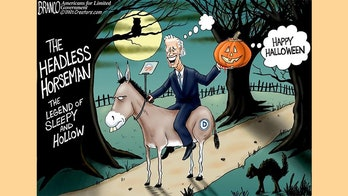 Political cartoon of the day: More trick, less treat?
