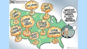 Political cartoon of the day: Joe's got it under control