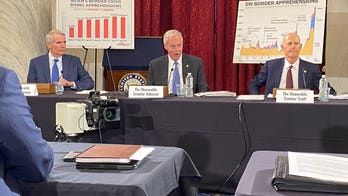 Senate Republicans slam Biden for border crisis, allege Dems won't hold a hearing on migrant surge