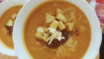 Spiced pumpkin and chorizo soup-chili hybrid recipe is 'the perfect fall dish'
