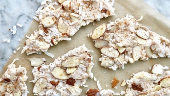 Pumpkin spice coconut bark is an easy fall dessert: Try the recipe