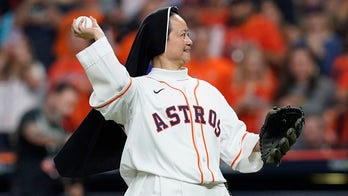 Houston nun throws out first pitch before ALCS win: 'This is our time'