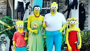 Halloween-obsessed family shows off their elaborate costumes