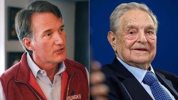 Glenn Youngkin, Jewish leader dismiss Dem's 'ridiculous' claim that criticizing Soros is 'antisemitic'