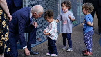 Biden seeks refuge from Connecticut hecklers: 'I like kids better than people'