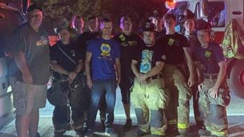 Retired NASCAR driver Kasey Kahne salutes good Samaritans after helping respond to fiery crash