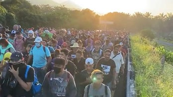 Trump says migrant caravan 'must be stopped' as it moves through Mexico towards US border
