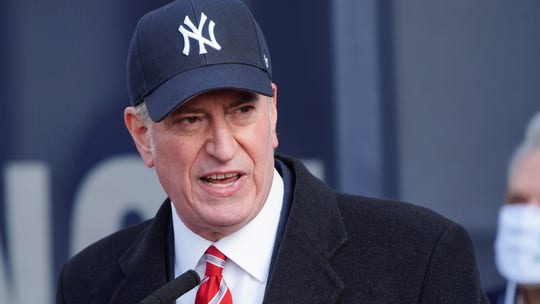 Pollster says de Blasio not yet 'serious' enough to be included in NY gov poll