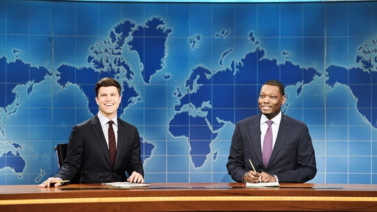 'SNL' Weekend Update takes on budget bill, vaccine mandates, COVID origins -- and other political footballs