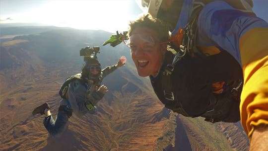 Skydive your way to a stay at this Utah resort