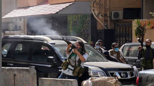 6 killed in Beirut during protest over judge in blast probe