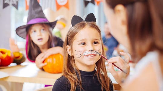 Halloween face paint tips to help protect your child's sensitive skin