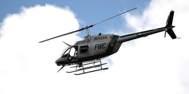 A helicopter near Phoenix, Ariz., collided with a single-engine plane while in the air.