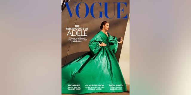 Adele covers the November issues of American and British Vogue.