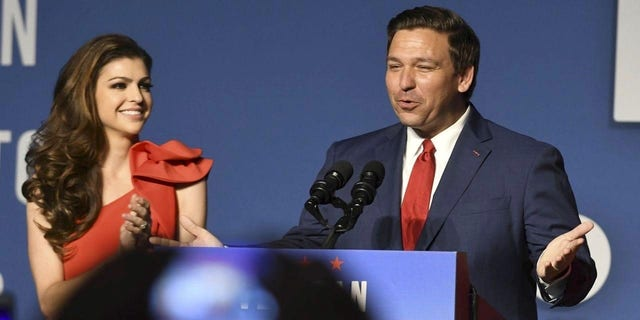 Casey and Ron DeSantis, the first lady and governor of Florida