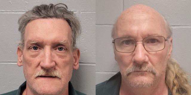 تيموثي نورتون (على اليسار) وجيمس فيلبس (على اليمين).  الصورة: مقاطعة دالاس ، ميزوري ، مكتب الشريف