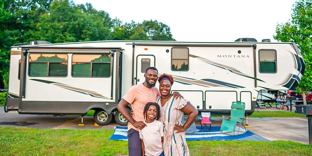 Karen Akpan and her husband Sylvester decided it was time to move into an RV to travel full-time in February 2020.