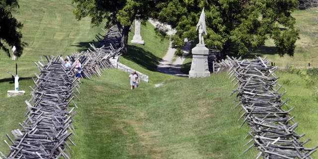 Bloody Lane Trail is a Civil War battleground that is located in Sharpsburg, Maryland, and is rumored to be haunted.