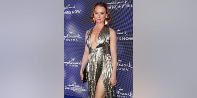 Actress Alicia Witt attends the Hallmark Channel and Hallmark Movies & Mysteries summer 2019 TCA press tour event at a Private Residence on July 26, 2019 in Beverly Hills, California.