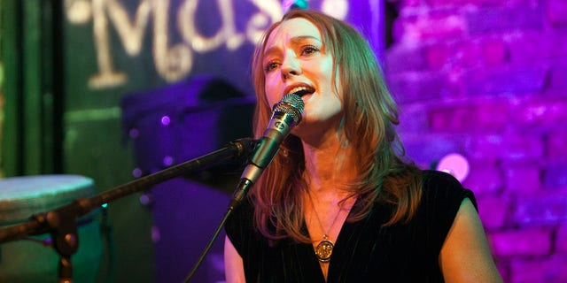 Singer/pianist Alicia Witt performs at the Evening Muse on December 17, 2016 in Charlotte, North Carolina.
