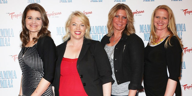 (L-R) Plural wives Robyn Brown, Janelle Brown, Meri Brown and Christine Brown.