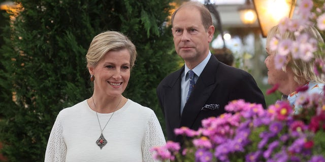 Sophie, Countess of Wessex is married to Prince Edward.