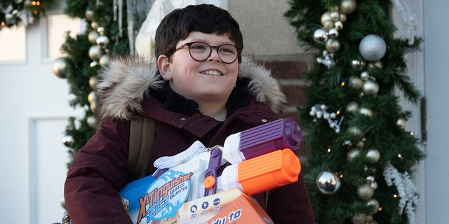 Archie Yates as Max in 'Home Sweet Home Alone.'