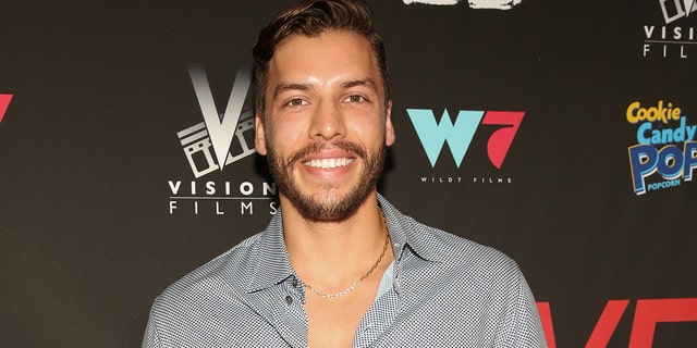 """Joseph Baena, at the premiere of """"I Love Us"""" in Los Angeles earlier this year, is the son of Arnold Schwarzenegger and his former mistress and housekeeper, Mildred Baena."""