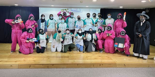 The Korean Cultural Center in the UAE hosted a KCC Squid Game Event on Tuesday, Oct. 12, where 30 applicants were welcome to play games from the hit show.