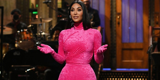 Kim Kardashian hosted 'Saturday Night Live' for the first time.