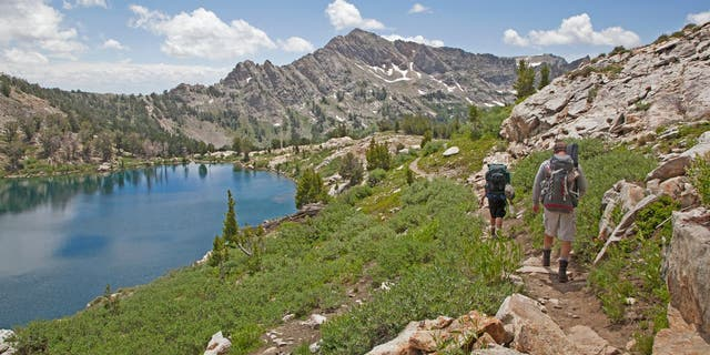 Ruby Crest Trail in the Ruby Mountain range in northeastern Nevada has 43 miles of postcard-worthy hiking trails.