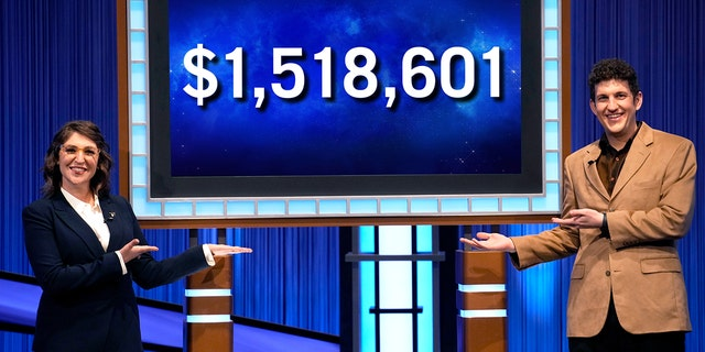 """The latest """"Jeopardy!  From Matt Amodio Total Score."""