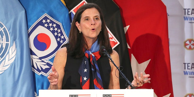 National Women's Soccer League Commissioner Lisa Baird is out after some 19 months on the job amid allegations that a former coach engaged in sexual harassment and misconduct toward players, a person with knowledge of the situation told The Associated Press. (Associated Press)