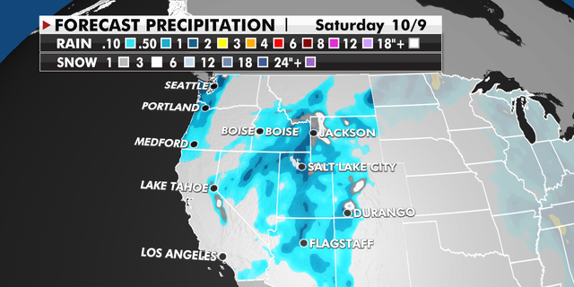 Precipitation across the Northwest