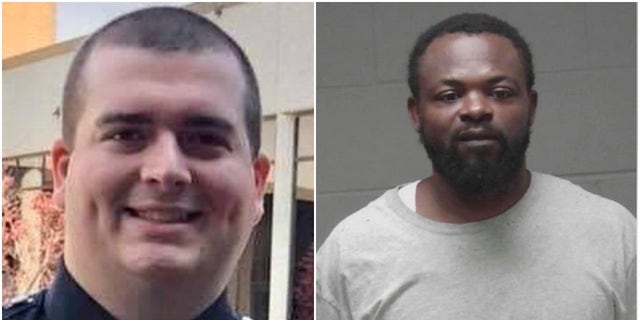 Damien Ferguson was charged with killing Dylan Harrison ( Laurens County Sheriff's Office and TELFAIR COUNTY SHERIFF)