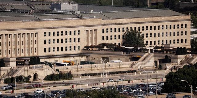 The Pentagon building in Arlington, Virginia, on Oct. 9, 2020. (REUTERS/Carlos Barria/File Photo)