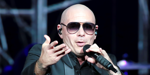 ATLANTIC CITY, NJ - JUNE 30: Pitbull performs in concert in the Etess Arena for the grand opening at Hard Rock Hotel & Casino Atlantic City on June 30, 2018 in Atlantic City, New Jersey. (Photo by Donald Kravitz/Getty Images)