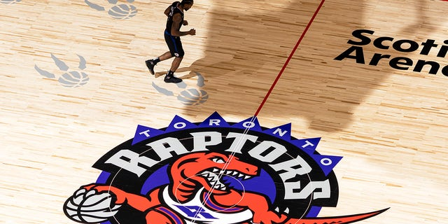 The Raptors play in the Scotiabank Arena in Toronto.