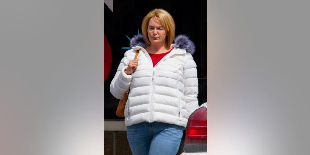 Actress Renee Zellweger is seen wearing a bodysuit on the set of 'The Thing About Pam.'