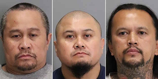Eutropio Dagayray, 47, Francis Dagayray, 45, and Gilbert Meriales, 45, were all arrested and booked into the Santa Clara County Jail on charges of homicide, assault with a deadly weapon, and gang enhancements.