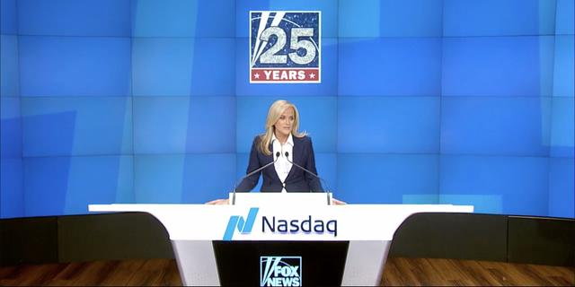 FOX News Media CEO Suzanne Scott rang the Nasdaq Opening Bell Tuesday as network celebrates 25th anniversary.