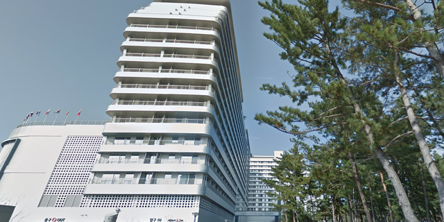 """The St. John's Hotel in South Korea is located two hours away from Seoul at 307, Changhae-ro, Gangneung, Gangwon-do. The hotel is planning to hold a """"Squid Game"""" event on its property on Oct. 24, according to recent Instagram posts."""