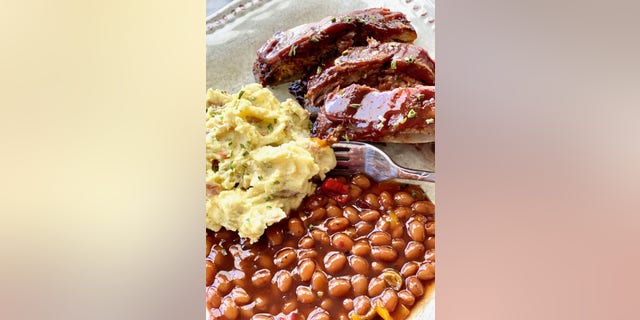 This recipe from Southern food blogQuiche My Grits by Debi Morgan uses a dry rub to add the perfect amount of flavor.