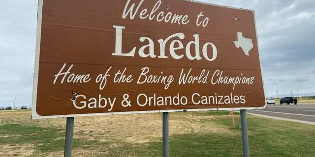 Laredo, Texas, is situated along the U.S.-Mexico border. It's about 180 miles from Del Rio.