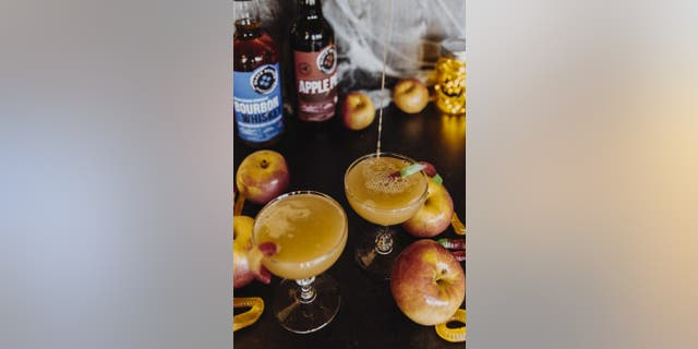 """Black Button Distilling is putting a spell on you with this Witch's Caramel Apple cocktail, which is perfect for """"Hocus Pocus"""" fans."""