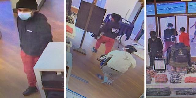 Surveillance photos of the suspects.