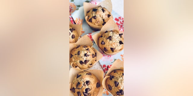 If you're looking for a versatile sweet treat to make at home, the zucchini chocolate chip muffins from food blog Quiche My Grits are for you.